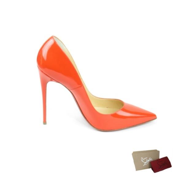 0145dee5885 So Kate Papaya Patent Calf Leather Pumps (EUR 40)